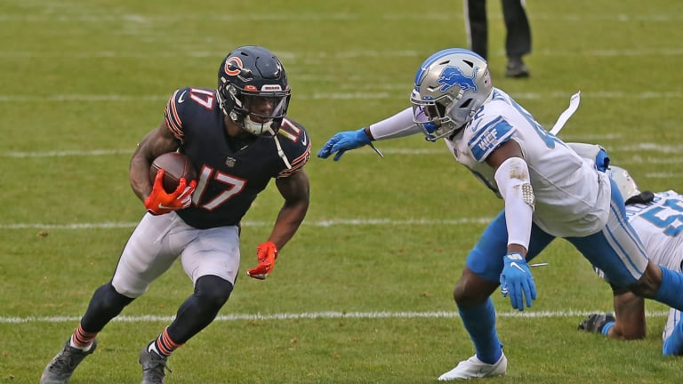 Volatile Receiver Cost Bears Two Draft Picks