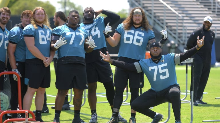 Jaguars' Veterans Report for First Day of Training Camp