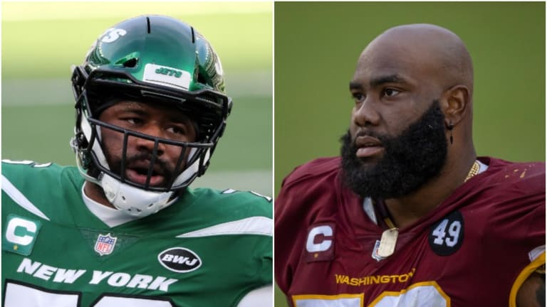 Robert Saleh: Morgan Moses, George Fant Will Compete For Jets' Starting Right Tackle Job