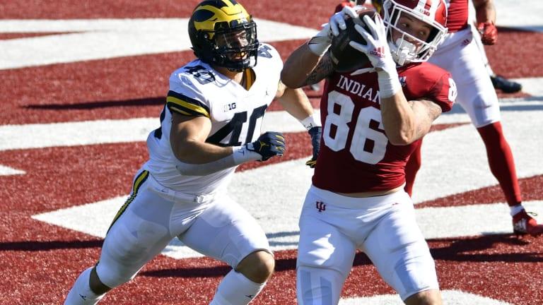 Indiana Tight End Peyton Hendershot on Mackey Award Watch List