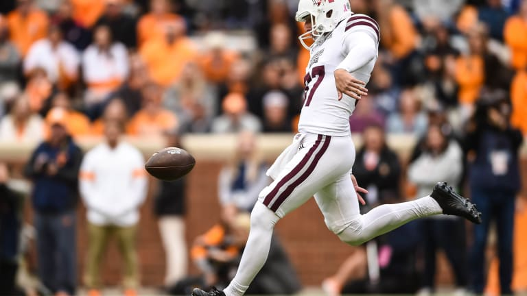 Mississippi State Punter Makes Ray Guy Award Watch List