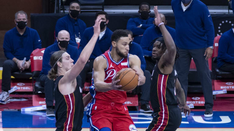 Report: Miami Heat Linked to Ben Simmons Trade Talks