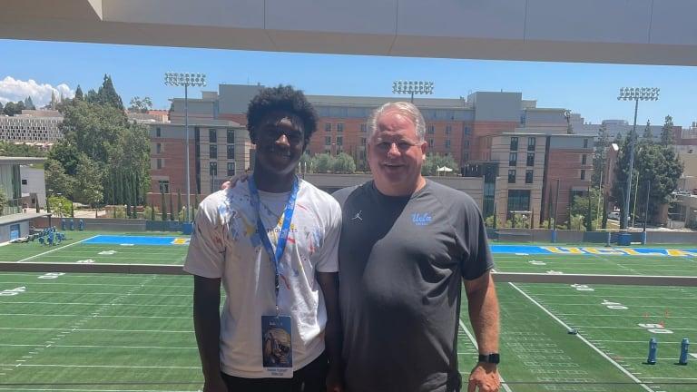 Speedy 2023 cornerback Rodrick Pleasant earns UCLA offer after campus visit
