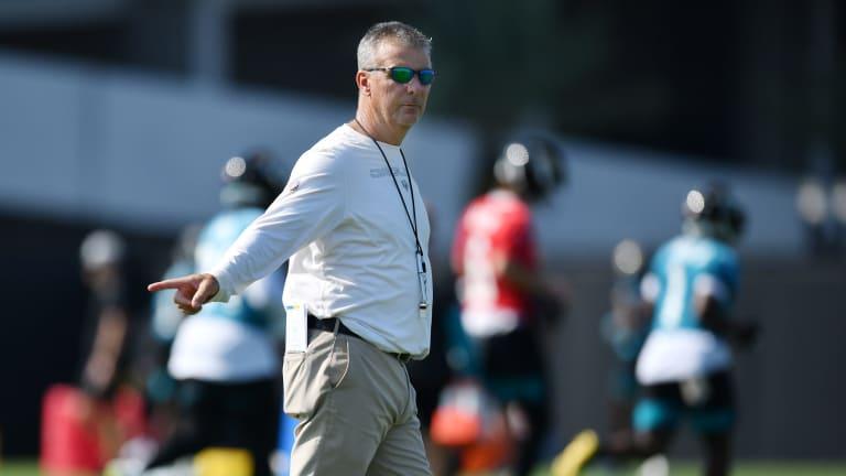 Urban Meyer Explains Why He and the Jaguars Were Fined for OTA Violations