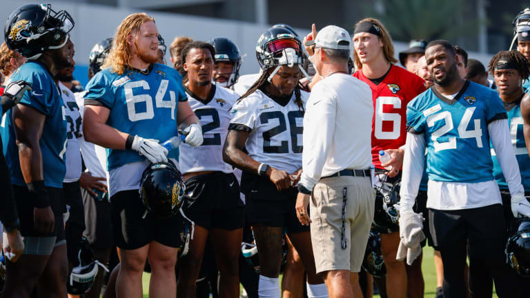Jaguars Training Camp Notebook, Day 1: Lawrence Shines, Minshew Rotates In and Cisco Participates