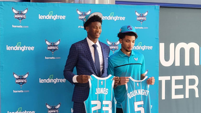 James Bouknight: Charlotte Hornets are now must-see TV, will be fun to watch