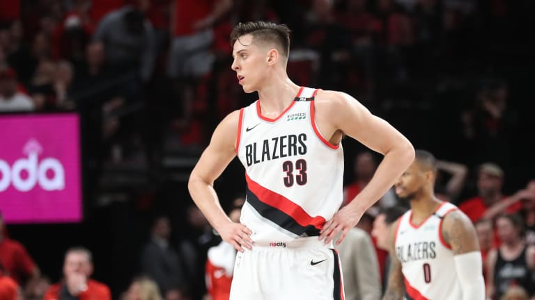 Report: Raptors, Pelicans Among Teams Interested in Zach Collins