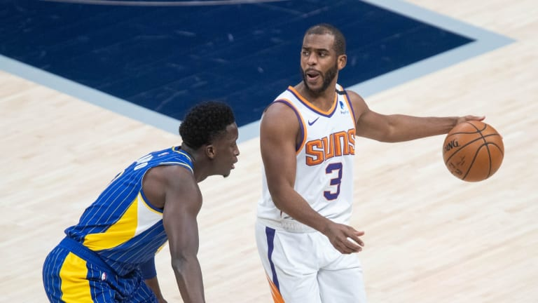Chris Paul Of The Phoenix Suns Surprising Shooting Numbers Against The Indiana Pacers Last Season
