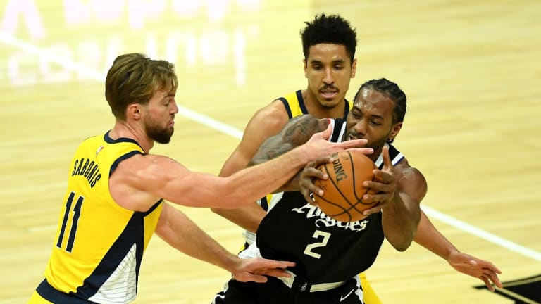 Here's Kawhi Leonard's Stats When The Los Angeles Clippers Played The Indiana Pacers Last Year