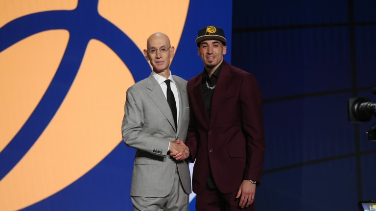 """""""This Is My World, Right Here"""" Here's What Chris Duarte Said About His Son On NBA Draft Night"""