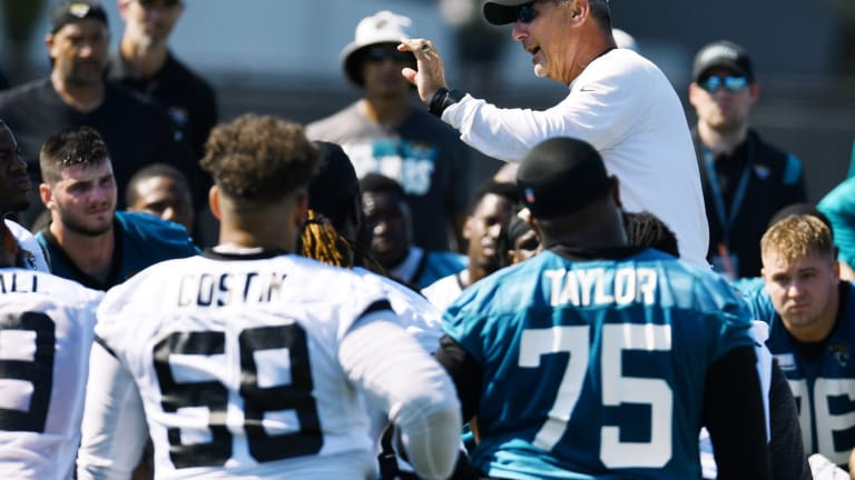 Jaguars Training Camp Notebook, Day 5: Lawrence Has an Up and Down Day, Defensive Amps It Up and More