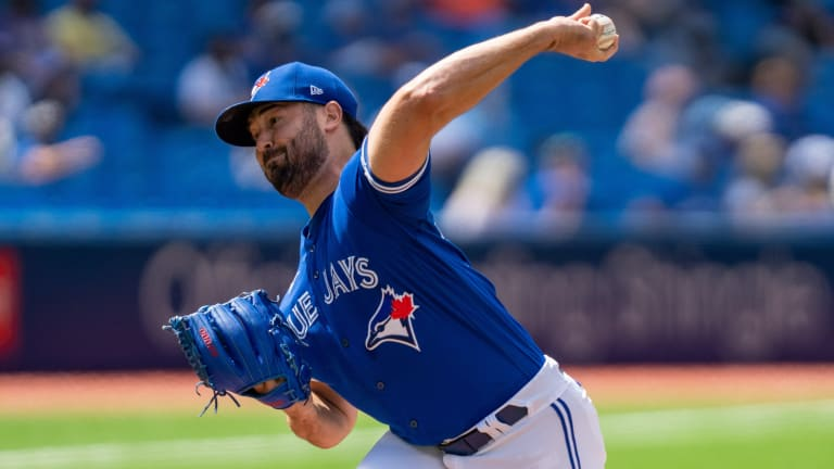 Robbie Ray Battles in First 2021 Rogers Centre Loss