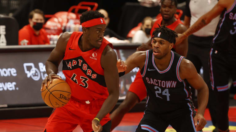 Report: Kings 'Definitely Have Interest' in Pascal Siakam