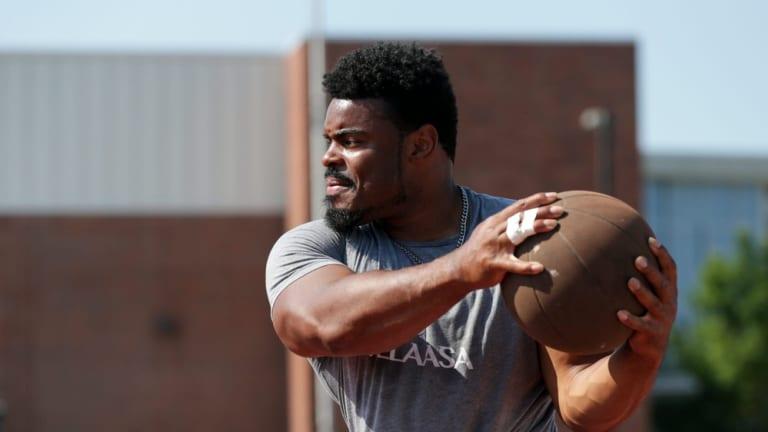 Former Purdue Athlete Chukwuebuka Enekwechi Advances to Olympic Shot Put Final