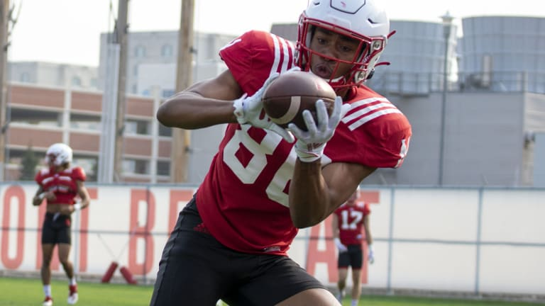 Scenes From Day Five, Husker Fall Camp