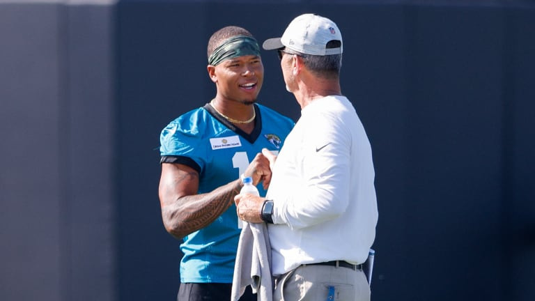 Jaguars' Marvin Jones Doing His Part to Mold Chark and Shenault and Form a Dynamic Trio