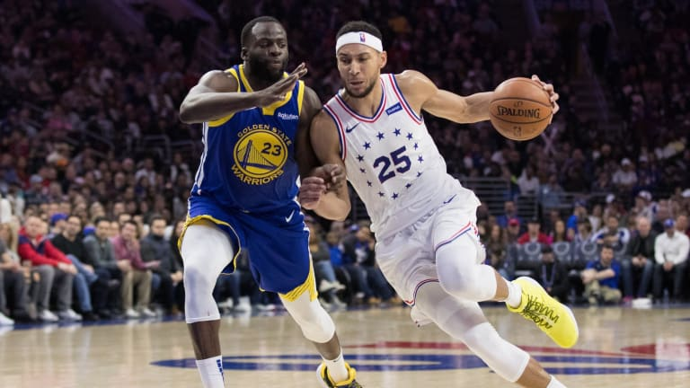 NBA Rumors: Ben Simmons Open to Playing With Golden State Warriors