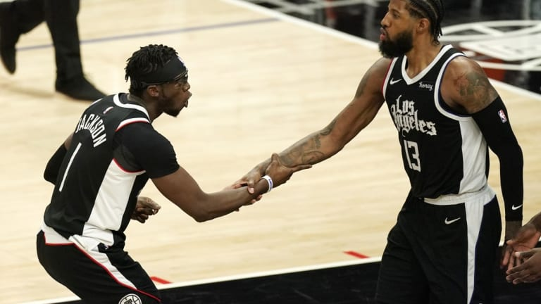 Paul George Reacts to Reggie Jackson Re-Signing With Clippers