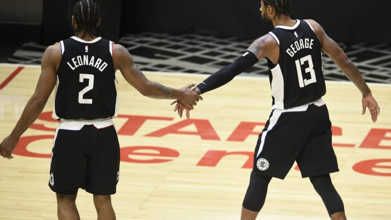 Paul George Reacts to Kawhi Leonard Re-Signing With LA Clippers