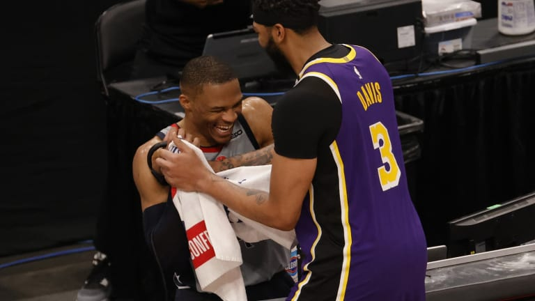 Blockbuster Five-Team Trade With Los Angeles Lakers Lakers, Brooklyn Nets, San Antonio Spurs, Washington Wizards And Indiana Pacers Involving Russell Westbrook Joining LeBron James And Anthony Davis And Spencer Dinwiddie To The Wizards Is Now Official