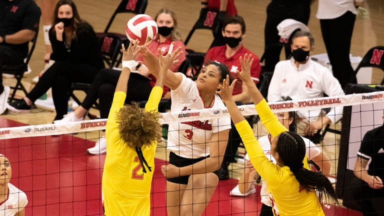 National Television Schedule Announced for Nebraska Volleyball