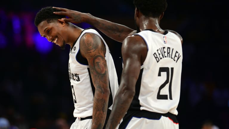 Marcus Morris and Lou Williams React to Clippers Trading Patrick Beverley