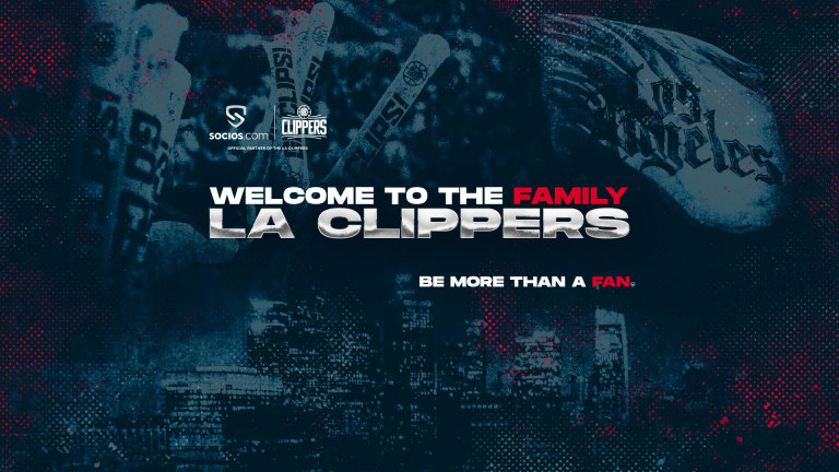 Clippers Announce Partnership With Rewards Platform Socios
