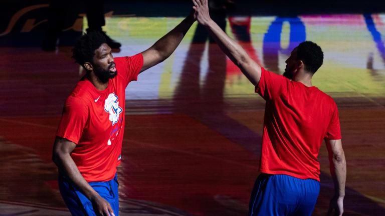 Sixers' Big Three Ranked Among Top in NBA