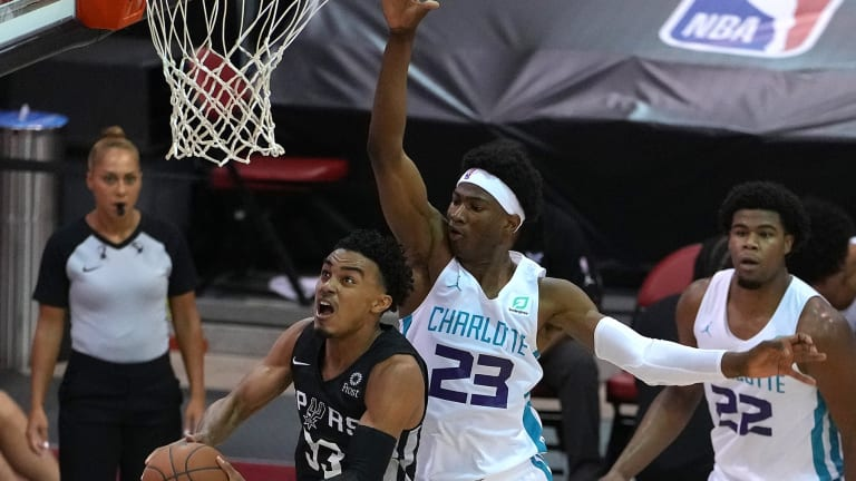 Charlotte Hornets rookie Kai Jones 'driven' to excel as a pro, determined to 'leave a legacy'