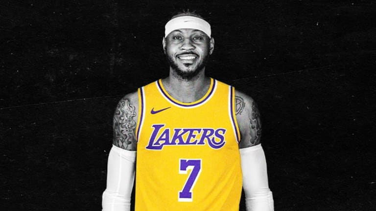 Lakers' LeBron James Influence Takes Carmelo Anthony Away from Damian  Lillard - Sports Illustrated LA Lakers News, Analysis and More