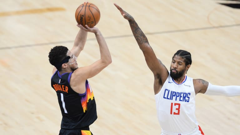 Devin Booker And Paul George On The Same Team? The Phoenix Suns And Los Angeles Clippers All-Stars Could Have Been A Dynamic Duo Together On This Team