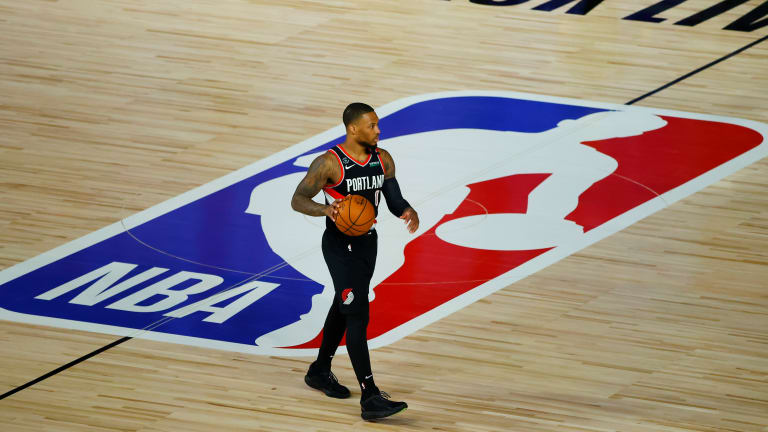 Damian Lillard Explains He's Not Threatening Blazers With Calls for Change