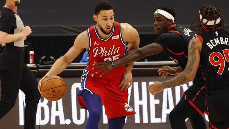 Report: Sixers Had 'Expansive Discussions' With Raptors and T-Wolves for Simmons
