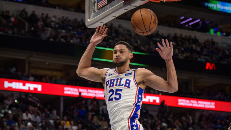 FS1 Host Claims Ben Simmons Feels Sixers Haven't Used or Developed Him Properly