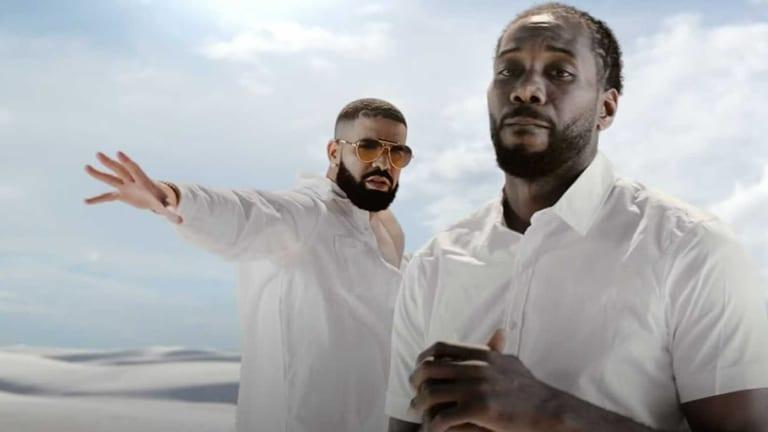 Kawhi Leonard Dancing in New Drake Music Video