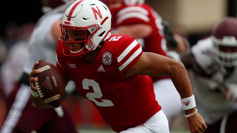 Game photos: Nebraska 52, Fordham 7