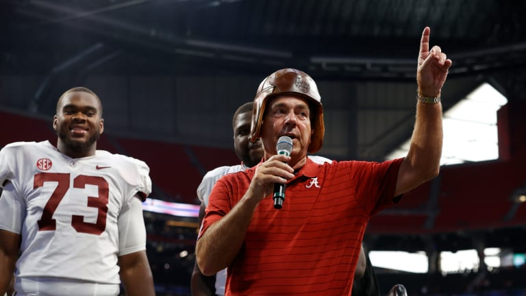 Alabama Tightens Hold Atop Top 25 Rankings, Closes in on Unanimous No. 1