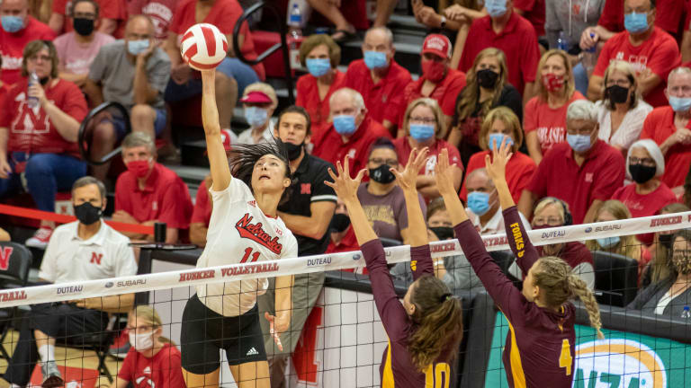 No. 4 Nebraska Remains Perfect With Ameritas Players Challenge Win