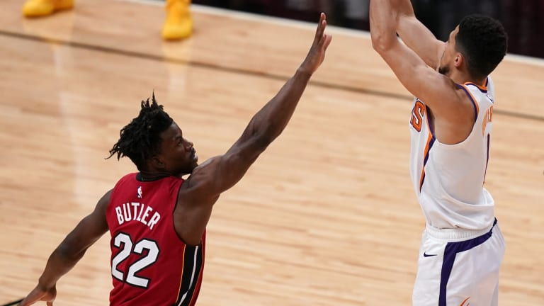A Big Three Of Devin Booker, Paul George And Jimmy Butler On The Same Team? The Miami Heat, PhoenixSuns And Los Angeles Clippers Stars Could Have All Been Drafted By The Same Team