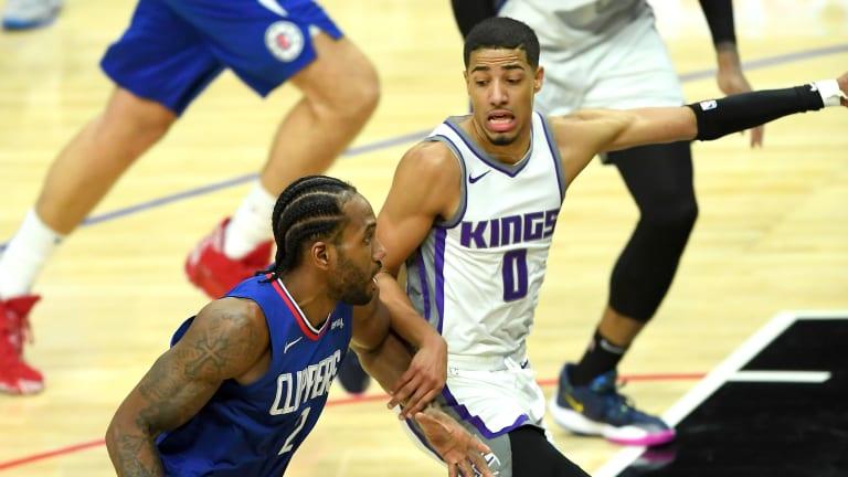 """Tyrese Haliburton Says Kawhi Leonard Gave Him His """"Welcome to the NBA"""" Moment"""