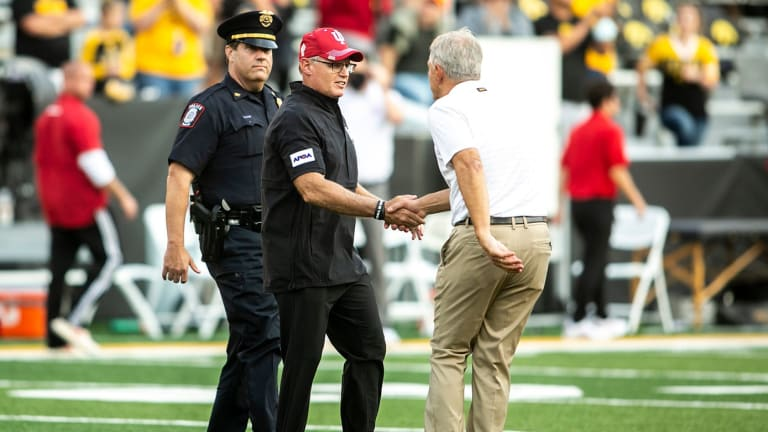 Hoosiers Tumble from Top-25 Rankings After Ugly Loss at Iowa