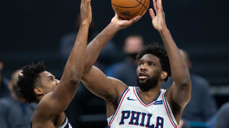 Joel Embiid Placed Just Outside Top Five in Player Rankings