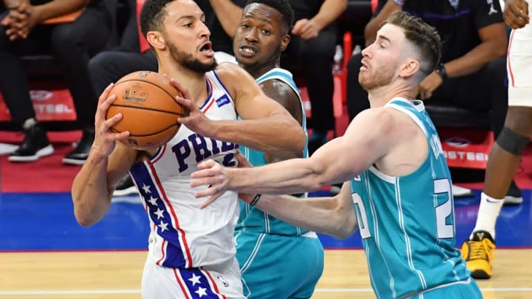 NBA Writer Suggests a Simmons Trade to Hornets for Hayward