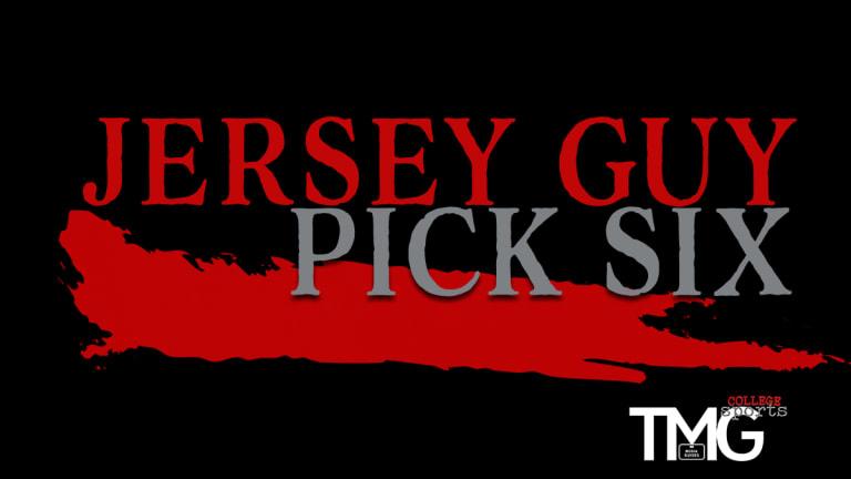 A Jersey Guy: Pick Six, Week 3