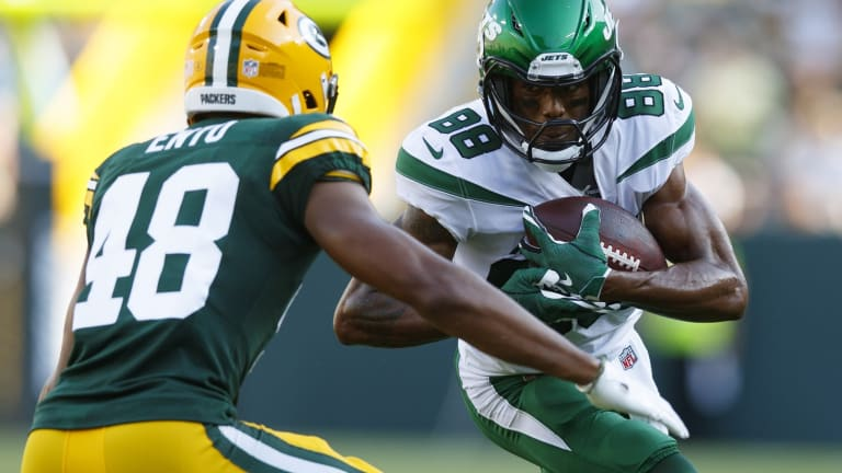 Jets Add WR Keelan Cole to Injury Report Days Ahead of Opener in Carolina