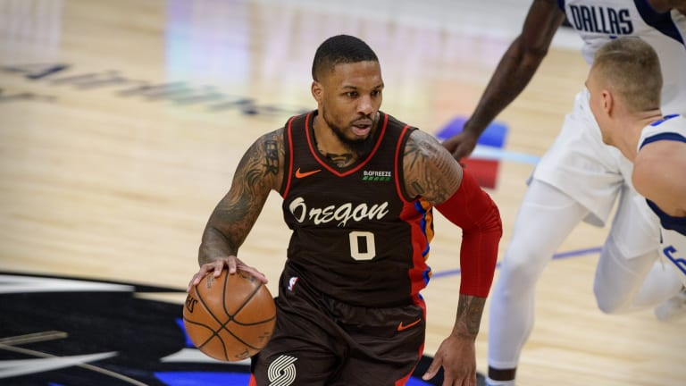 Sixers Target Damian Lillard Confirms He's 'Back for More' With Blazers