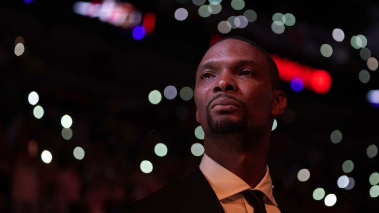 Former Miami Heat Player Chris Bosh's Upcoming Hall of Fame Induction Conjures Big Three Memories