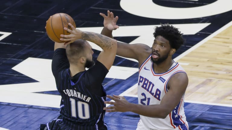 Recent Hall of Fame Inductee Sees Himself in Joel Embiid