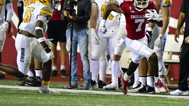 Great Special Teams Play Helps Indiana Win Home Opener Over Idaho, 56-14