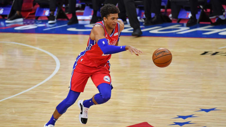 Matisse Thybulle Shows Out in Open Gym With Tobias Harris